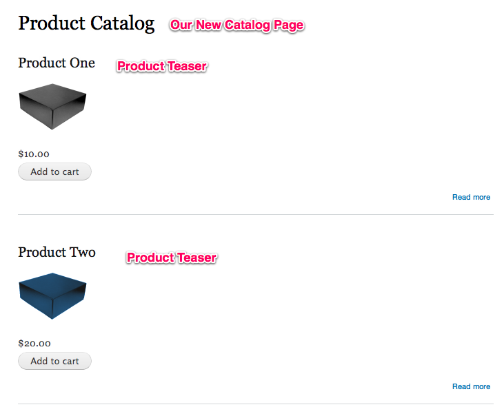 Setting up a Product Catalog | Drupal Commerce documentation