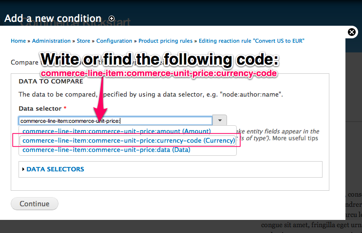 Write or find the following code: commerce-line-item:commerce-unit-price:currency-code