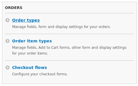 Select Order types